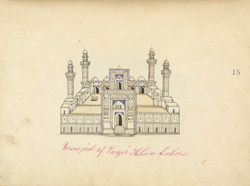 Mosque of Wazir Khan, Lahore 1414